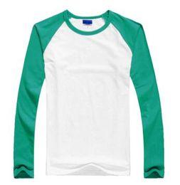 Argentina 2019 nuevo estilo del resorte del otoño El niño de costura de estilo color de moda de manga larga camiseta de ropa de los niños Suministro