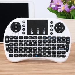 Para Set-Top Box TV Remoto Inteligente Fly Air Mouse 2.4G Sem Fio Mini Teclado com Touch Pad Para Jogos de Controle Remoto Inteligente de Fornecedores de toque de jogos de tv