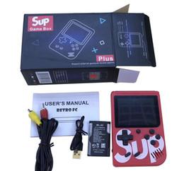 SUP игры бокс видео игра консоль можно storte 400 игр Портативного Hadheld приставки ретро цвет игрок игра подарок для детей, чем PXP3 1PCS от Поставщики игровые приставки продаются оптом