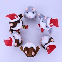 elektrische aufzeichnungen Rabatt Sprechen Plüsch Puppen Kinder Elektrische Aufnahme Puppe Kind Voice Changer Walking Little Hamster Modellierung Spielzeug Neue Ankunft 20xd L1