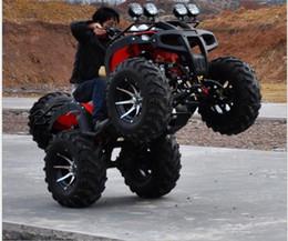 baterías de europa Rebajas 250 ATV Llanta de aluminio de 12 pulgadas Eje de transmisión de ATV Big Bull con aumento diferencial ATV de motocicleta de cuatro ruedas ATV