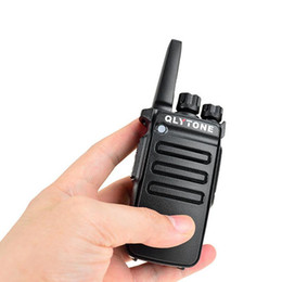 walkie talkie profesional de mano Rebajas Para Lu Yitong 5200 Mini Walkie - Talkie Wireless Handheld Professional UV Dual - Sección para Radio Hunting