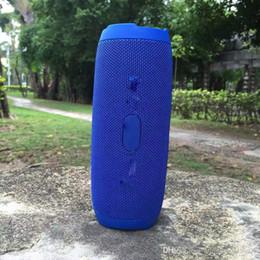 novos oradores cool Desconto DHL livre 4 pcs Bluetooth Speaker Com Microfone HIFI Subwoofer Portátil Ao Ar Livre Sem Fio Bluetooth Speaker Sports Speaker Suporte TF Card