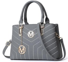 Mk totes sacos de mulheres on-line-Atacado Moda Bolsas Bolsas Mulheres sacos de Designer Bolsas Carteiras para As Mulheres Sacos de Ombro Crossbody LeatherBag # MK