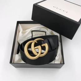 Canada En gros meilleur prix haute qualité marque célèbre mode taille ceinture avec boîte en cuir pour femmes et hommes Offre