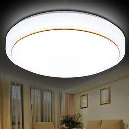 Plafonnier rond moderne à LED Dia21cm 6W Économie d'énergie plafond pièce lumineuse salon hall couloir de maison éclairage blanc ? partir de fabricateur