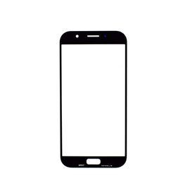 галактика a7 lcd Скидка 100 шт. / лот оригинальный новый замена ЖК-фронтальный сенсорный экран стекло внешний объектив для Samsung Galaxy 2017 A7 A720 A720F высокое качество