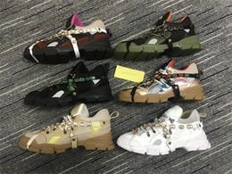 Cc schuhe online-Herren Designer Sneakers Bergsteigen Freizeitschuhe Flashtrek Sneaker Abnehmbarer Kristall Herren Damen Outdoor Wanderschuhe Oversize cc Sneaker