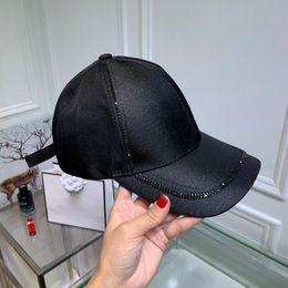 Printemps femmes haute qualité mode chapeaux en tissu mercerisé pour dames casquettes de baseball de loisirs en plein air avec boîte est ? partir de fabricateur