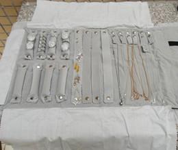 мешок для рулона Скидка Чехол для хранения ювелирных изделий рулонная сумка для путешествий Портативная складная бархатная бижутерия для ожерелья Кольца Серьги Браслет
