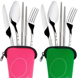 Portable Plastic Spoon Fork Travel Transparent Tableware Box Storage Organize Jh