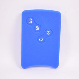 Megane shell chave on-line-30 pçs / lote silicone carro remoto chave da tampa do caso shell bag apto para laguna koleos captura clio megane 4 botões chave