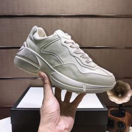 fabrik direkt sneakers Rabatt Fabrik Direktverkauf von Leder Herren- und Damen Opa Schuhe klassischen Retro-Stil dicke Sohle erhöhte Turnschuhe Freizeitschuhe 35.