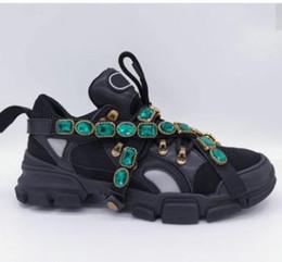 La migliore sneaker firmata Fashion Sneaker Flashtrek con allenatore rimovibile da donna per uomo Scarpe da arrampicata da uomo Scarpe da trekking per esterno da uomo 35-45 da