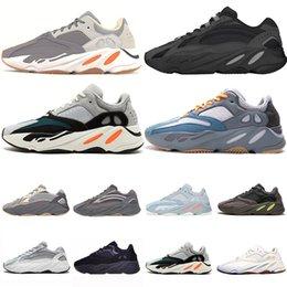 2019 обувь для девочек yeezy 700 boostГорячий дизайнер NERTIA 700 статические 3 м волна Бегун мужские женщины лиловый сплошной серый Спорт кроссовки спортивные кроссовки Кроссовки кроссовки размер 36-46 дешево обувь для девочек