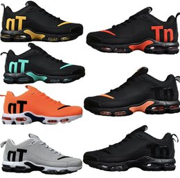 best authentic b820b 0c75c high Designer fashion luxury shoes men women Wave Runner running shoes  Training best quality air mens chaussures TN PLUS V2 max Drop plastic