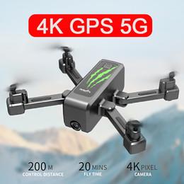 2019 rc nano quadcopter mini drone 4k 5g wi-fi 20min longo tempo de vôo gps câmera óptica drones FPV Fluxo óptico Posição Dual Camera Swith dobrável Quadrotor 50X Zoom