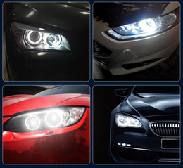 Carro modificado on-line-Factory Outlet Para BMW Anjo Eye E39 5W LED Car Light Farol Decoration Modificado Luz frete grátis