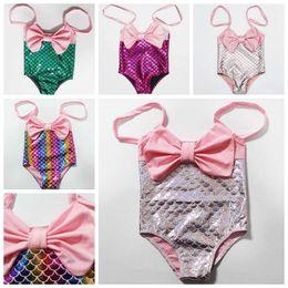 186026e5212 halter bikini kid Rabatt 1-6 jahre Nette Prinzessin Kinder Baby Mädchen  Meerjungfrau Badebekleidung Halter