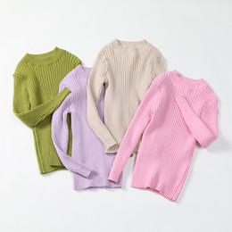 Gerippte Kinder Strickjacke 2020 Frühlings Baby Mädchen Pullover Strick Pullover Herbst Winter Baby Kleidung 1 6 Jahre Schwarz Weiß Grau
