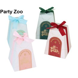 trapezoid box Coupons - 500 x Europe Trapezoid Butterfly Wedding Sweets Boxes Multi -Color for you