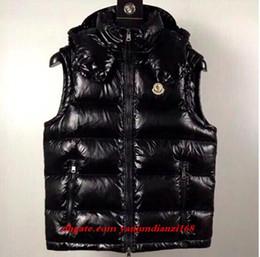 casacos de anorak para homens Desconto Novos homens anorak francês inverno colete gillets uk popular gilets jaqueta corpo quente plus size homem para baixo parkas anorak com capuz para baixo colete
