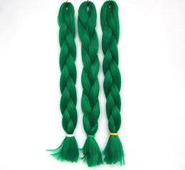 Seidiger pferdeschwanz online-Frauen Geflechte Ponytails 30 Farben synthetische Haar Weaving Trend Afro Silky Geflechte Jungfrau-Haar hitzebeständige synthetische Dreadlocks Ponytails
