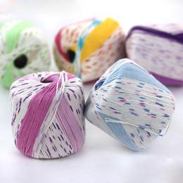 Nouveau vente chaude coton bambou charbon de coton lait fil de coton au crochet fil bébé fils doux coton bambou fil pour le tricotage ? partir de fabricateur