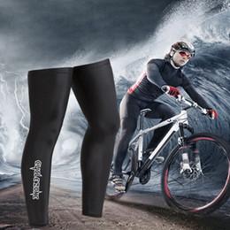 couvre-jambes de bras de cyclisme Promotion Vélo Cyclisme UV Protection Solaire Vélo Manchette Jambe Manches Couvre Couvre Engrenage Vélo Accessoires Noir Manchon Jambe De Haute Qualité
