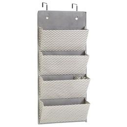 4 couches placard pendaison sac de rangement porte mur penderie organisateur non tissé pour cuisine chambre salle de bain ? partir de fabricateur