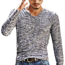 Tops de verão na moda on-line-Casual manga comprida Magro básico na moda Homens Verão camo Camiseta cobre T Camuflagem T-shirt dos homens roupa Chemise Homme