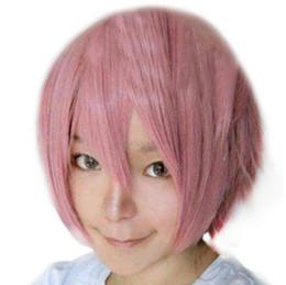 le più belle parrucche Sconti Wig HOT Spedizione gratuita cool parrucca diritta parrucca piena protezione breve costume cosplay stile anime