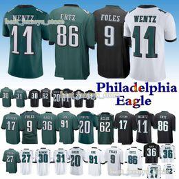 2cf40064149 Philadelphia jersey Eagle 11 Carson Wentz 9 Nick Foles 86 Zach Ertz 20  Brian Dawkins 2019 new jerseys Top MEN shirt philadelphia eagles jerseys on  sale