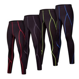 child s leggings Promo Codes - Kids Running Pants boys compression tights Child Sports Leggings Gym Clothing Basketball Cycling Fitness Summer Sweatpants