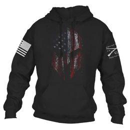 Schädel pullover jacke online-Fashion New Trend Herren 3d Nationalflagge Skeleton Hohe Qualität Herren Big Skull Sweater Hoodies Jacke Mantel Großhandel
