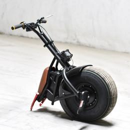 Canada Harley même pneu fat SCOOTER DE MOTOCYCLE UNE ROUE ÉLECTRIQUE, 18 po - noir ou doré supplier one wheel electric scooters Offre
