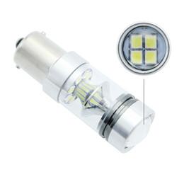 Cree rojo bombillas led online-Lámpara blanca del estacionamiento de la compra de componentes de la luz de niebla del coche del grado 20 20 SMD de 1156 LED bulbo 100W DC 12V 360