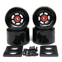 Ruedas de 35mm online-Skateboard Electric Wheels 78A 97 * 52mm Brush Street Big Wheel Long Board Ruedas ABEC-9 Rodamientos Bujes 35mm Pernos 6mm Junta