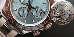 Aço final on-line-N New V8 Ultimate versão Automático Cal.4130 ETA 4130 Assista 904L Aço Cronógrafo Mens Ceramic Bezel 116500 116506 116520 Homens Sport Relógios