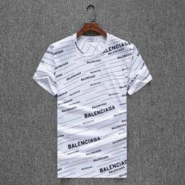vêtements de fitness pour hommes Promotion Hommes De Mode Hip Hop Lettre Imprimer # 6690 D'été Hommes Manches Courtes T-shirt En Coton Bodybuilding T-shirt Homme Marque Gymnases Vêtements Fitness T-shirt