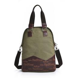 8650f5f6e Café / caqui / ejército Moda verde viento nacional bolso de las mujeres  Calidad garantizada Vintage Bolsa de lona Bolso de hombro de la mujer 1365