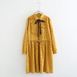 7127763a60090 Discount peter pan collared dresses - Full cats heads print cartoon print  long sleeve peter pan