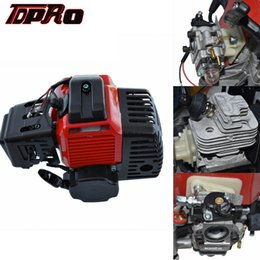 ventiladores de arrefecimento Desconto TDPRO Pull Iniciar 43 47 49cc 2 tempos motor Motor de arranque do motor para Mini Moto bolso ATV Quad Buggy sujeira Pit Bicicleta Scooter Gás