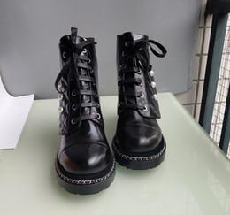 mujeres del sexo botas negras Rebajas Zapatos de diseño de lujo de estilo europeo, botas de moda, zapatos de wome, botas, zapatos de moda, cierre de Martin con lether