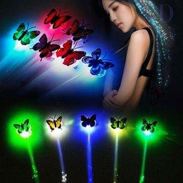 Guirnalda de juguetes online-LED trenza de pelo Juguetes de la Navidad que brilla intensamente que destella juega para los niños muchachas de los cabritos regalos de Año Nuevo Garland