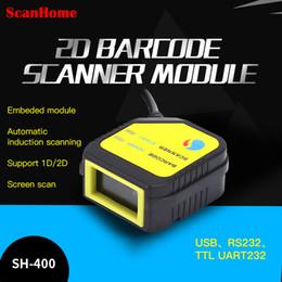 2019 definição do cartão usb ScanHome módulo de escaneamento embutido Módulo de cabeça de escaneamento de código 2D fixo USB TTL RS232 motor SH-400