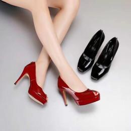 Argentina Verano nueva gama alta de las mujeres zapatos casuales vestido de compras boca de pescado tacones altos de cuero banquete boda moda damas zapatos de lujo cheap wedding shoes shops Suministro