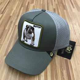 e2996797fc Summer Mesh Baseball Hats Embroidery Butch Dog Caps Luxury Outdoor Sun Hat  Hot Mens Golf Ball Cap Women Fashion Visor Quality Mesh Hats