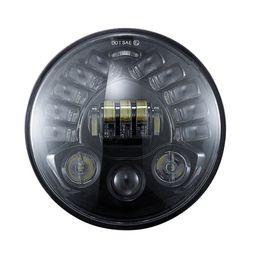Scheinwerfer führte motorräder online-Neueste 7 zoll runde motorrad led projektor scheinwerfer hohe abblendlicht für harley bmw r neunt r9t led scheinwerfer das modell dynamisch motorrad
