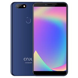 2019 coolpad handys Ursprüngliches Coolpad Cool Play 8 Lite 4G LTE Handy 3 GB RAM 32 GB ROM MT6739 Quad Core 6,0 Zoll Vollbild 13MP Fingerabdruck ID Handy günstig coolpad handys